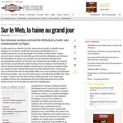 Sur le Web, la haine au grand jour