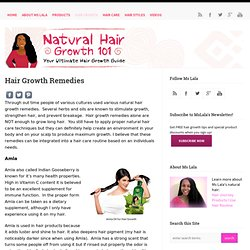 Hair Growth Remedies for Long Natural Hair