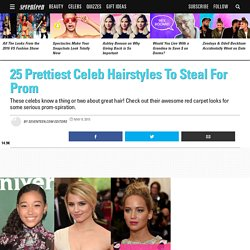 Hair Ideas for Prom - Prom Hair Tips