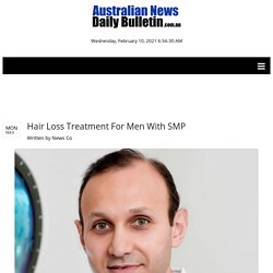 Hair Loss Treatment For Men With SMP