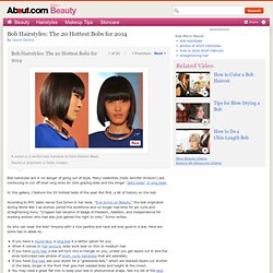 Bob Hairstyles: The 20 Hottest Bobs of 2012