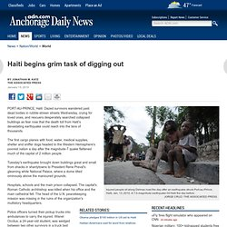 Quake devastates Haiti, thousands feared dead: AP news