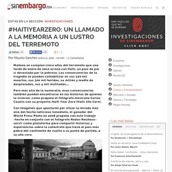 #HAITIYEARZERO: UN LLAMADO A LA MEMORIA A UN LUSTRO DEL TERREMOTO