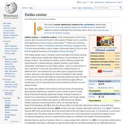 Hakka cuisine - Wikipedia