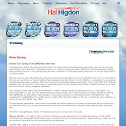 Hal Higdon Training Programs