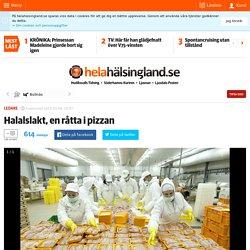 Halalslakt, en råtta i pizzan