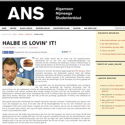 Halbe is lovin' it!