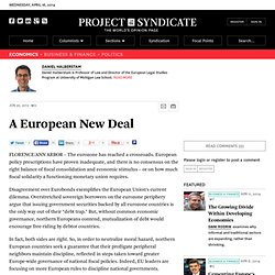 """A European New Deal"" by Daniel Halberstam and Miguel P. Maduro"