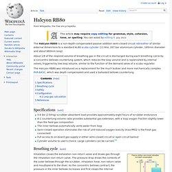 Halcyon RB80