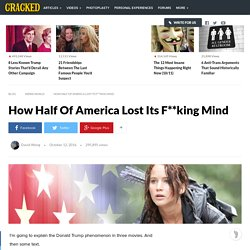 How Half Of America Lost Its F**king Mind
