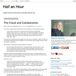 The Cloud and Collaboration
