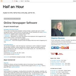 Online Newspaper Software