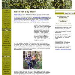 Halfmoon Bay Trails