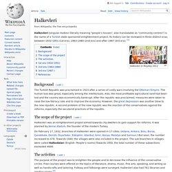 Halkevleri - Wikipedia