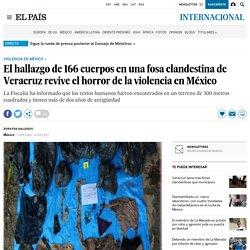 Fosa clandestina en Veracruz -El País / 07-09-2018