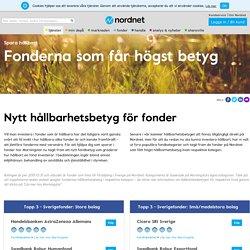 Hållbarhetsbetyg - Nordnet