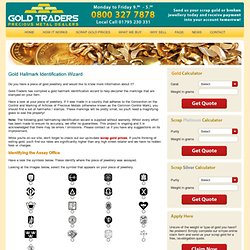 Gold Hallmark Identification Wizard