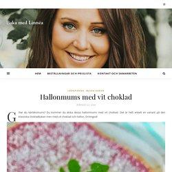 Hallonmums med vit choklad - Baka med Linnéa - Recept hittar du här!