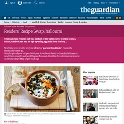 Readers Recipe Swap