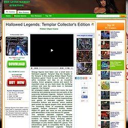 Hallowed Legends: Templar Collector's Edition Free PC Game Download without registration