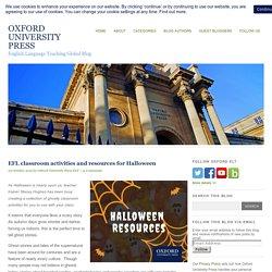 Halloween EFL activities and resources