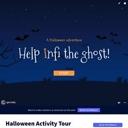 Halloween Activity Tour