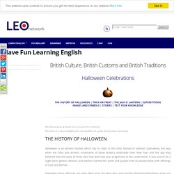 Halloween - Halloween in Britain - British Culture, Customs and Traditions