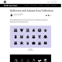 Halloween and Autumn Icon Collections - Noun Project