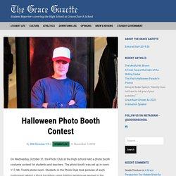 Halloween Photo Booth Contest – The Grace Gazette