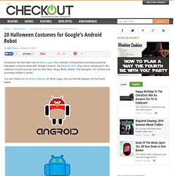 20 Halloween Costumes for Google's Android Robot