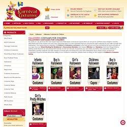 Buy Halloween fancy dress costumes online from Karnival Costumes