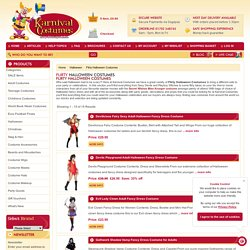 Buy Flirty Halloween Costumes from Karvinal Costumes this Halloween