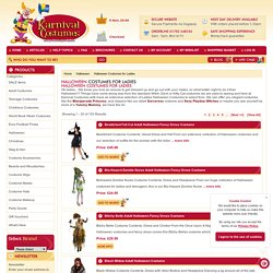 Get ladies fancy costumes from an online fancy dress costume store in UK