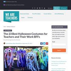 23 Best Teacher Halloween Costumes (for Groups & Partners)