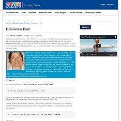 Halloween Fun! a lot of ideas