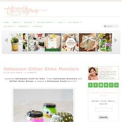 Halloween Glitter Slime Monsters - The 36th AVENUE