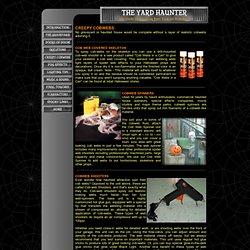Halloween Yard Haunter - Creepy Cobwebs - Cobweb Spinner