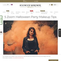 5 Zoom Halloween Party Makeup Tips