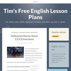 Halloween Horror Story: C1/C2 Inversions