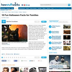 10 Fun Halloween Facts for Families - HowStuffWorks
