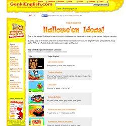 Genki Halloween Ideas