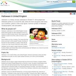 Halloween in United Kingdom