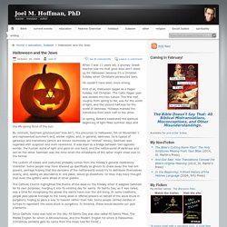 Halloween and the Jews