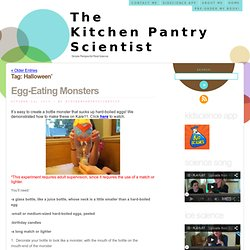 Halloween « The Kitchen Pantry Scientist