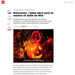 Halloween : idées déco pour la maison et table de fête