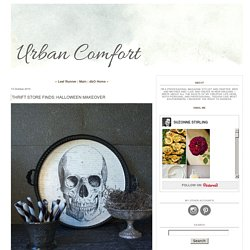 Thrift Store Finds: Halloween Makeover - Urban Comfort