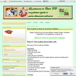 Faire un gâteau en forme de cercueil pour Halloween.... - mesgateauxrigolo.over-blog.com