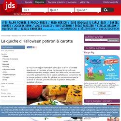 La quiche d'Halloween potiron & carotte