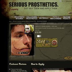 Halloween Prosthetics, Halloween Makeup & Halloween Kits