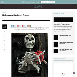 Halloween Skeleton Frame - DIY Inspired